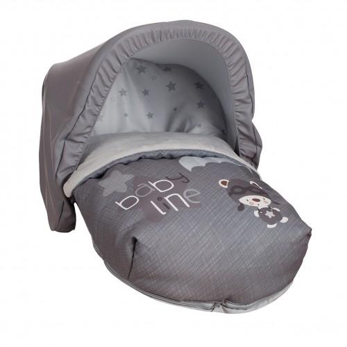 Saco Porta bebé Paracaidista Gris (capota no incluida)-32.50€