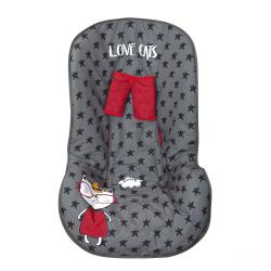 Funda auto Love cat