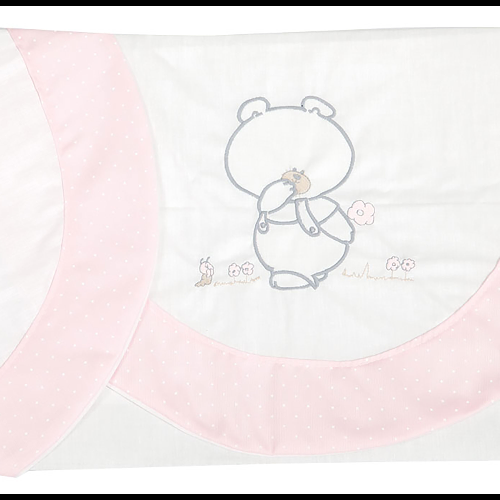 Juego de sábanas de coche Pepo rosa