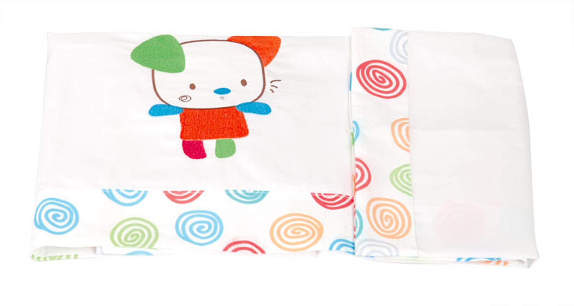 Juego de sábanas de mini cuna serie 36