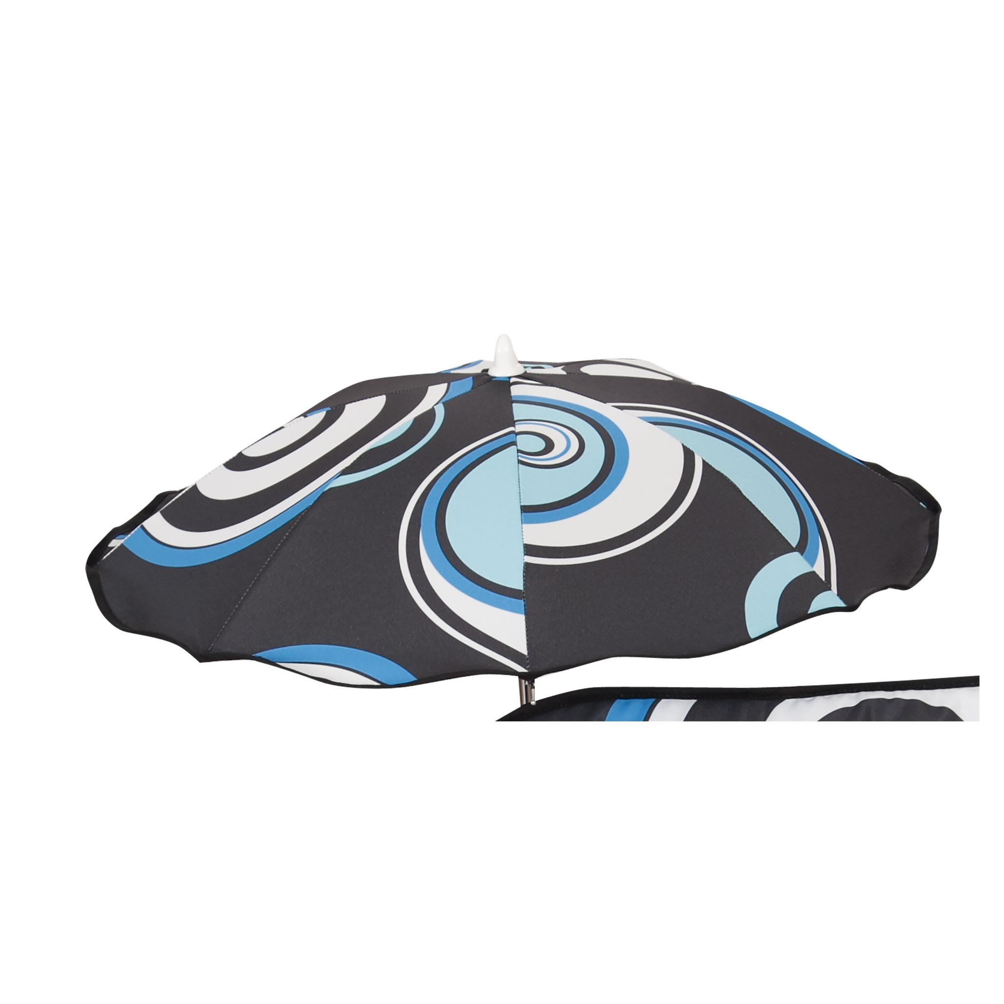 Sombrilla bebé Espiral Azul