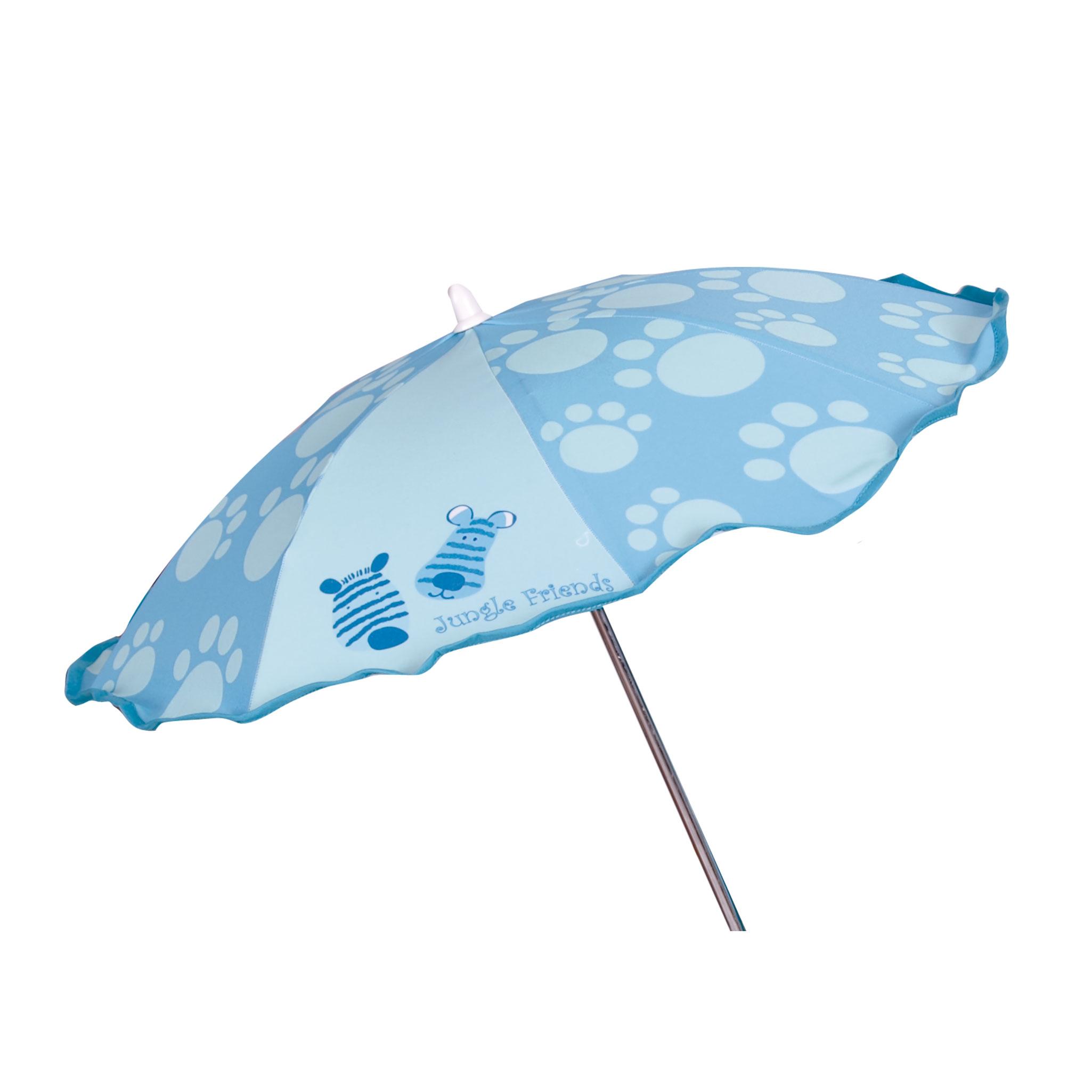 Sombrilla bebé Jungla azul