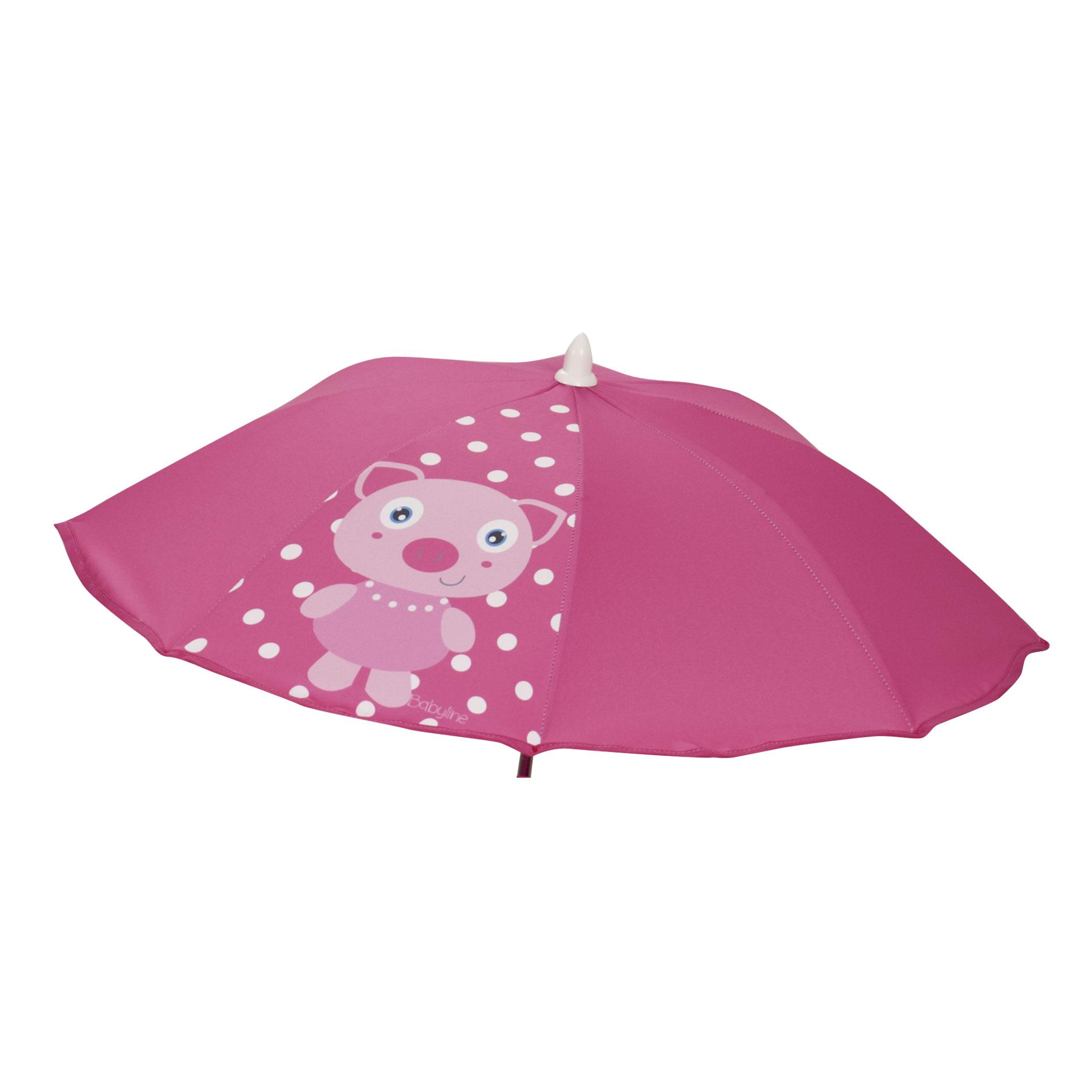Sombrilla silla  Cerdita rosa