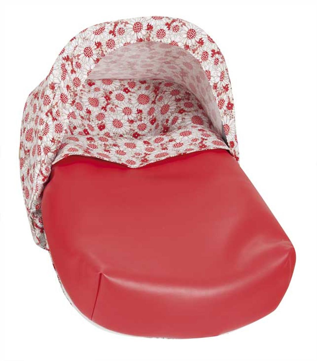 Saco Porta bebé Madeira Rojo (capota no incluida)