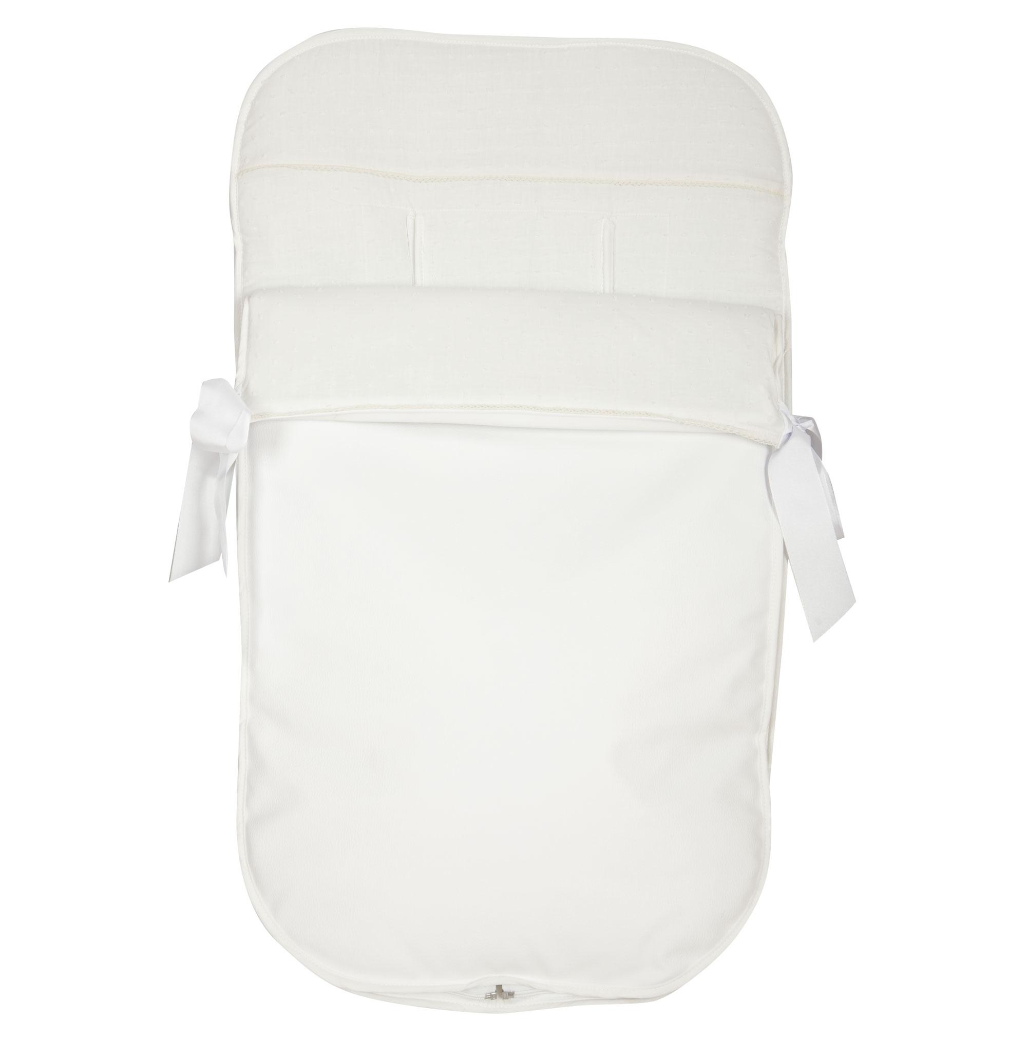 Saco de silla Algodones Blanco