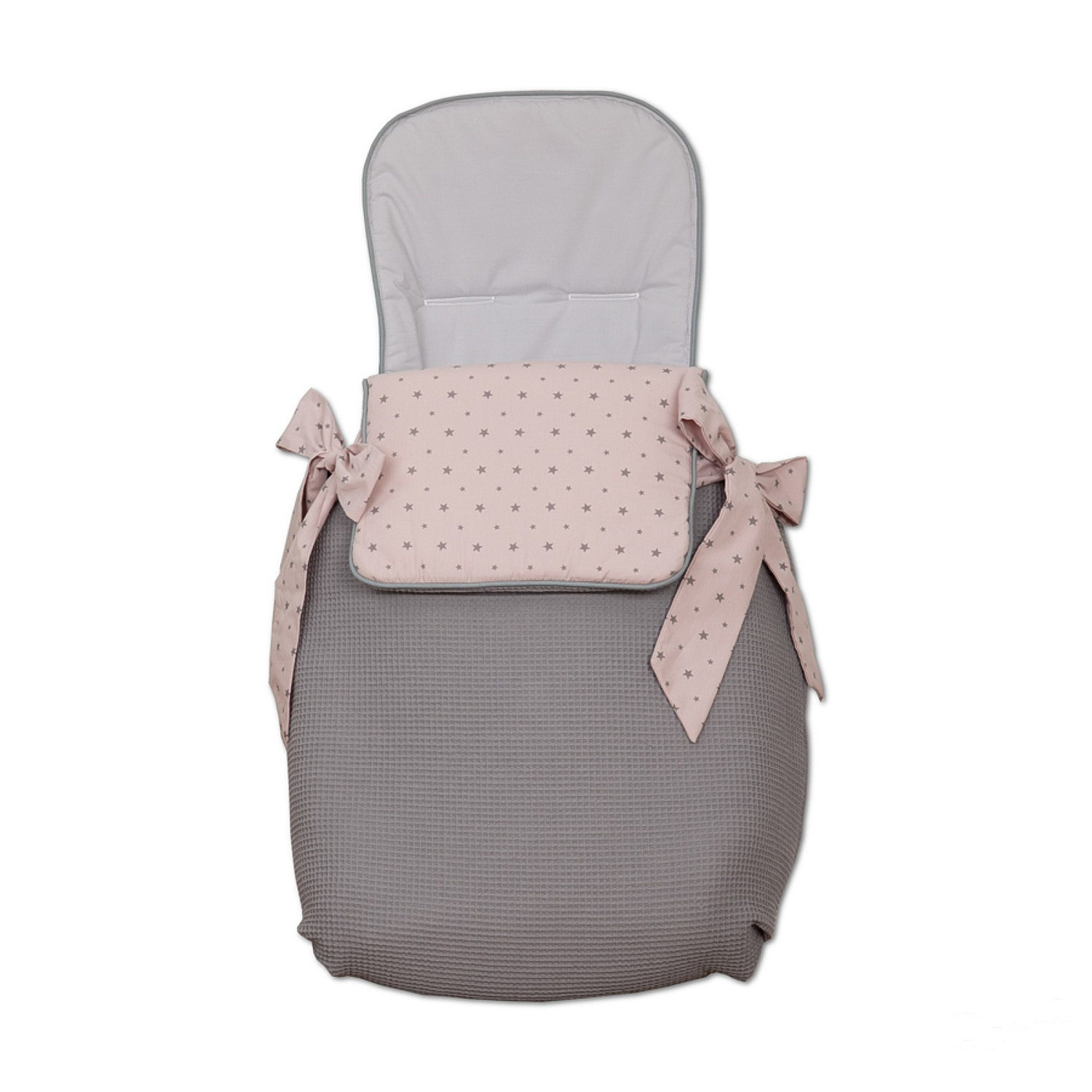 Saco 3 usos Little Star Rosa